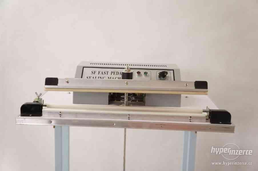 Svářečky folií hliníková konstrukce, svar 500x2 mm - foto 2