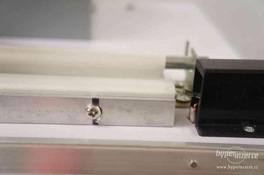 Svářečky folií hliníková konstrukce, svar 500x2 mm - foto 4