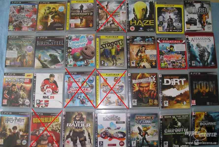Velká sbírka Playstation 3 her - PS3 hry - klasika i rarity