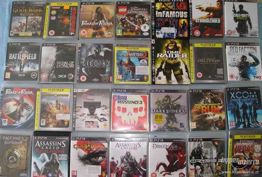 Velká sbírka Playstation 3 her - PS3 hry - klasika i rarity - foto 2