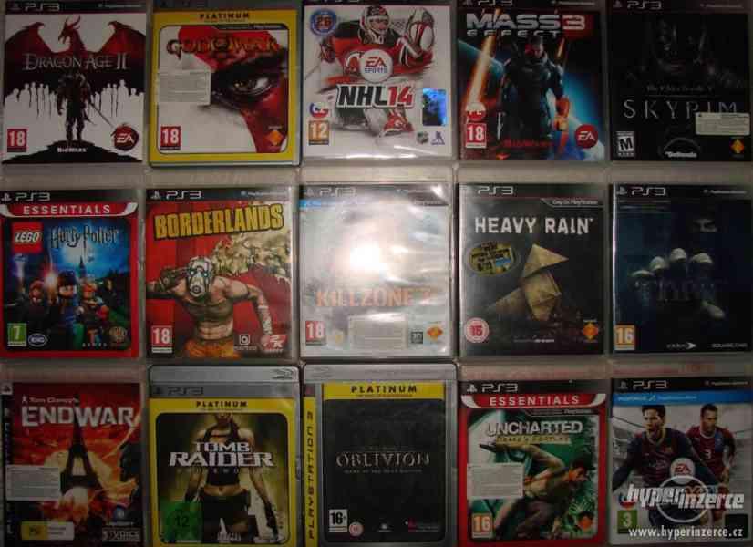 Velká sbírka Playstation 3 her - PS3 hry - klasika i rarity - foto 4