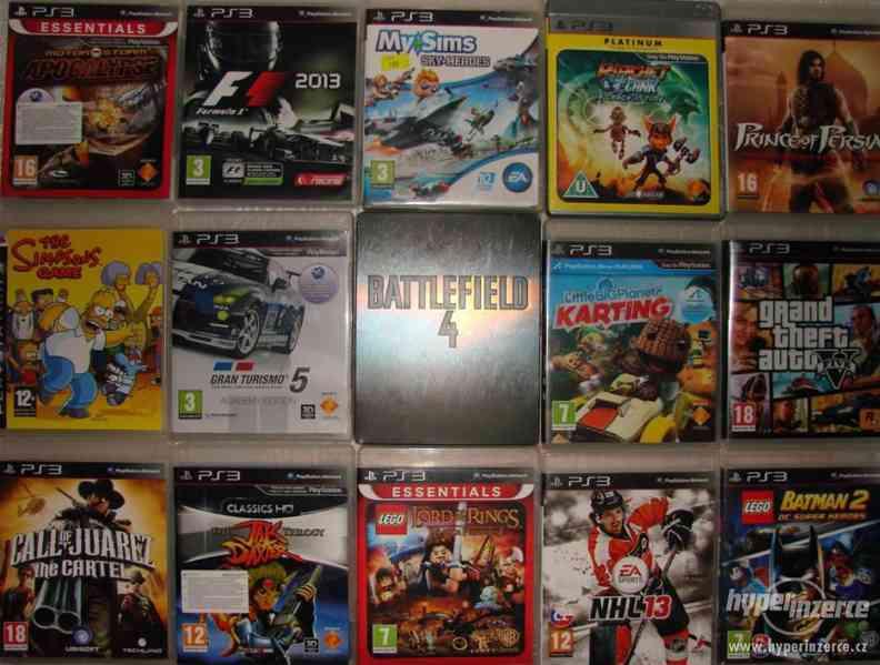 Velká sbírka Playstation 3 her - PS3 hry - klasika i rarity - foto 5