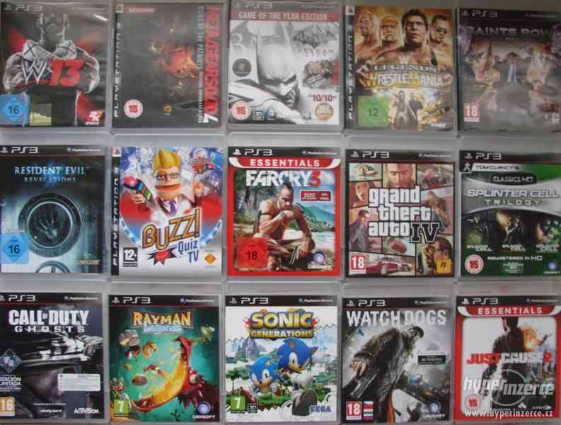 Velká sbírka Playstation 3 her - PS3 hry - klasika i rarity - foto 6