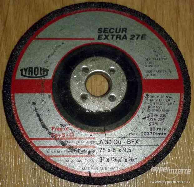 Brusný kotouč Tyrolit 75x6x9,5 - foto 1