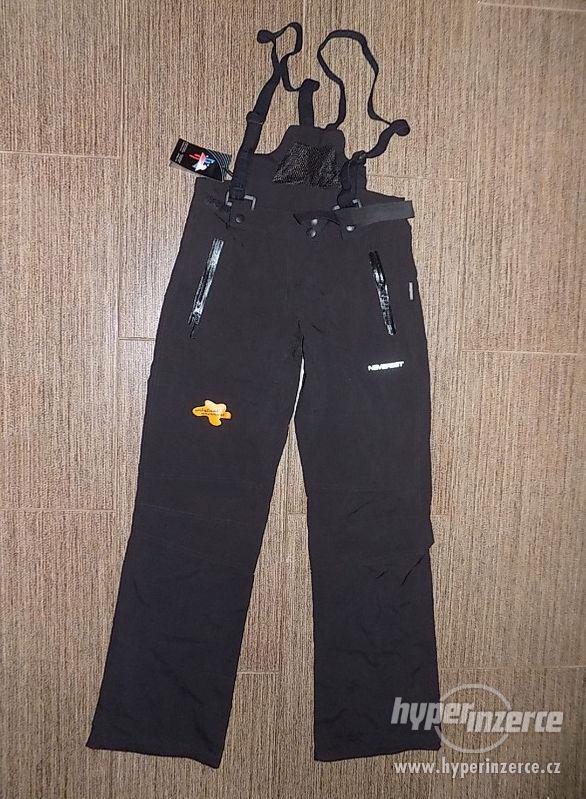 Nové zimní lyžařské kalhoty M oteplovačky Neverest.