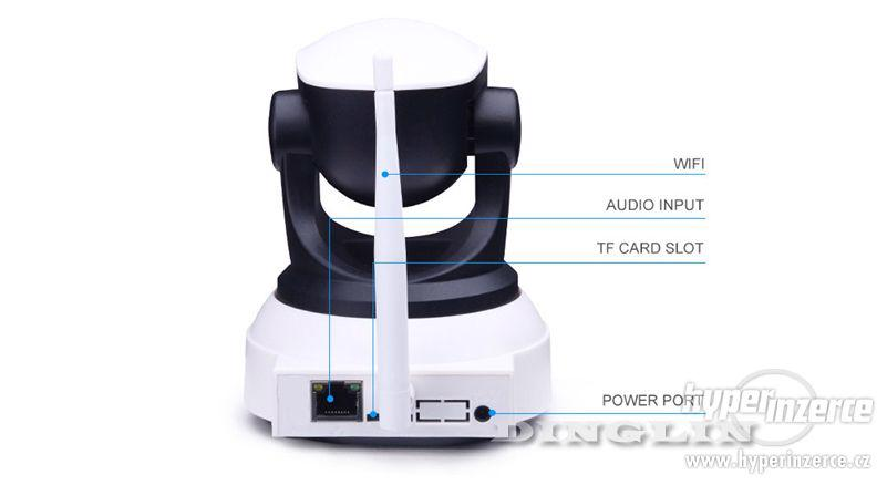 HD Wi-fi kamera, IP s nočním viděním, 720p - foto 6