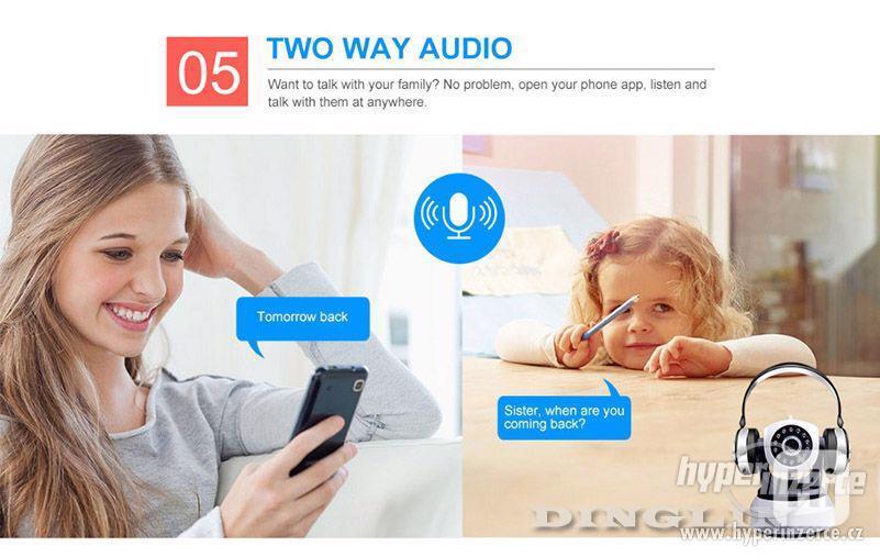 HD Wi-fi kamera, IP s nočním viděním, 720p - foto 10