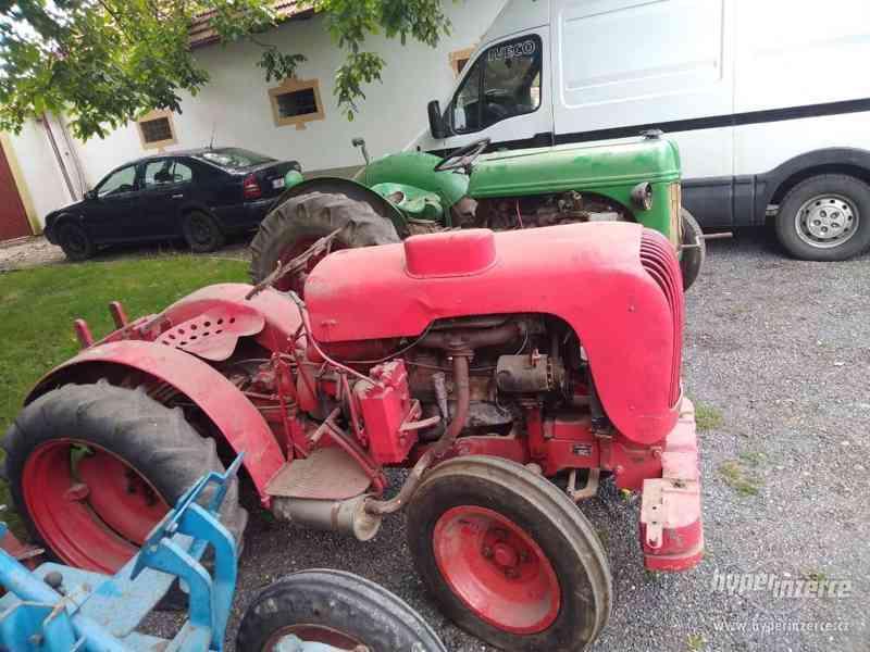 Prodám historický traktor Arnoux - foto 2