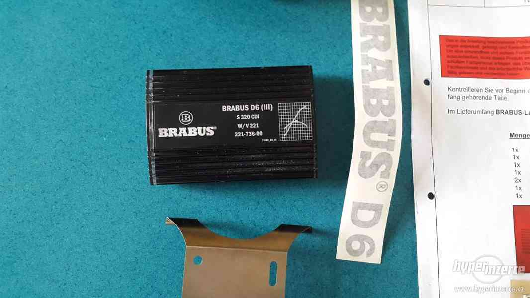 Chip BRABUS D6 III PowerXtra pro Mercedes S 320 CDI - foto 2