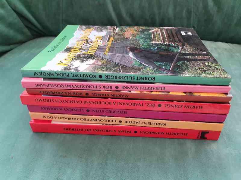 Knihy o zahradnictví - foto 2