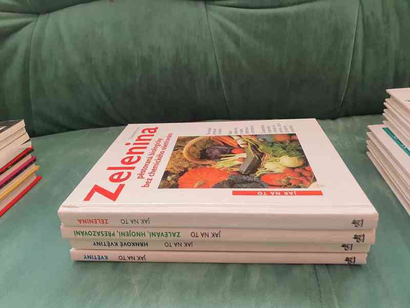 Knihy o zahradnictví - foto 3