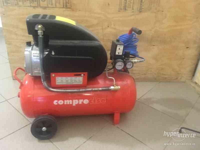 kompresor COMPRECISE H3/24 olejový rychloběžný - foto 1