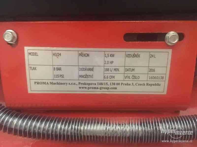 kompresor COMPRECISE H3/24 olejový rychloběžný - foto 2