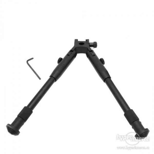 Sklopná střelecká dvojnožka Bipod teleskopická na RIS lištu - foto 1