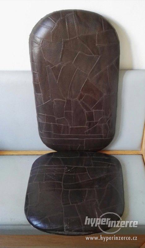 Sedák + Opěradlo  /  pevné  - polstrované - lehké