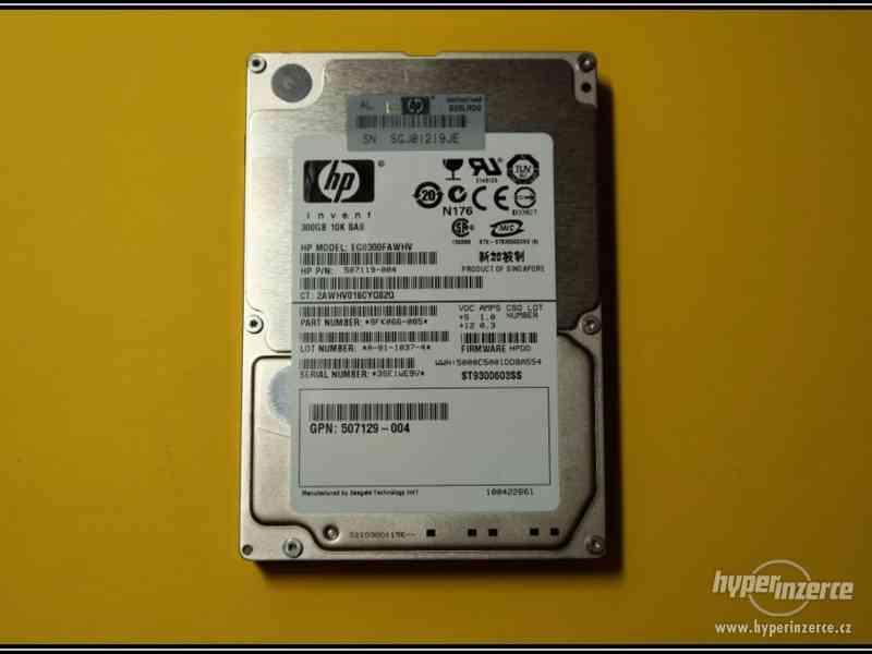 "Disk HP 300GB SAS 2,5"" 10K 6G HotPlug 507119-004"