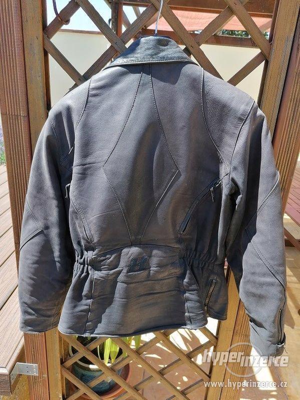 Kožená motorkářská bunda HELD + kalhoty - foto 2
