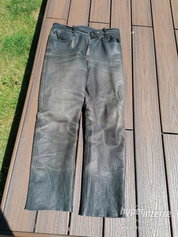 Kožená motorkářská bunda HELD + kalhoty - foto 3