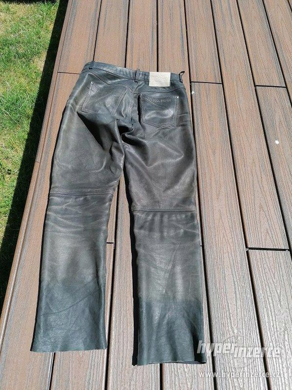 Kožená motorkářská bunda HELD + kalhoty - foto 4