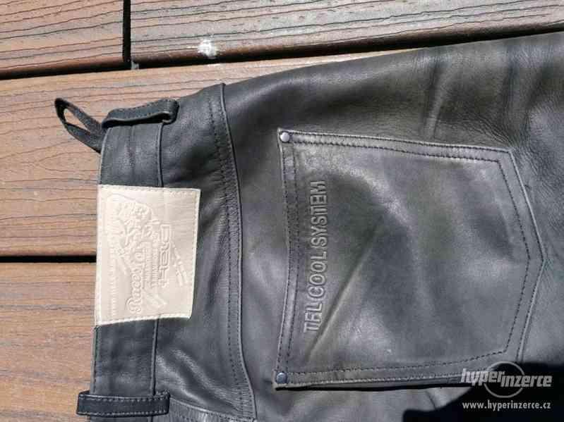 Kožená motorkářská bunda HELD + kalhoty - foto 5