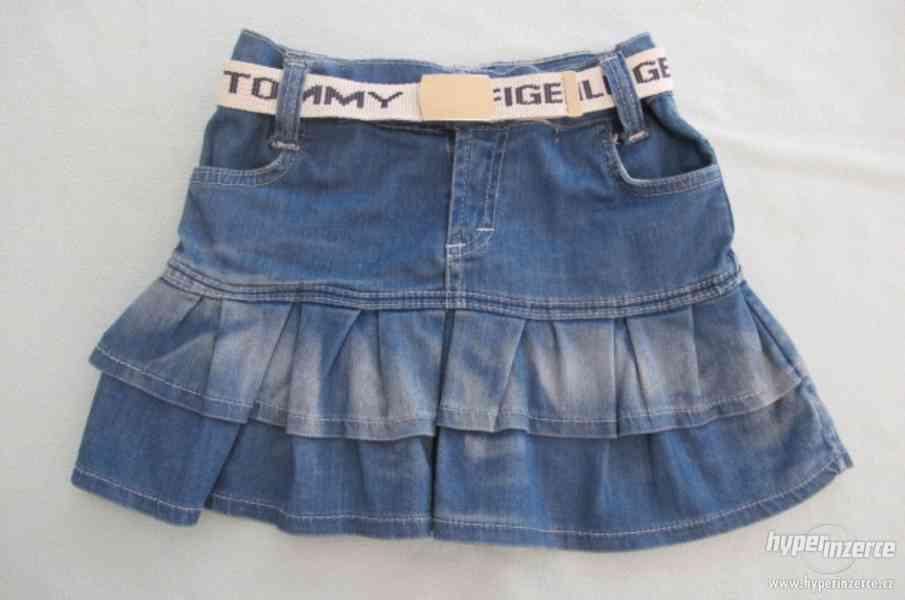 Dívčí riflová sukně Tommy Hilfiger