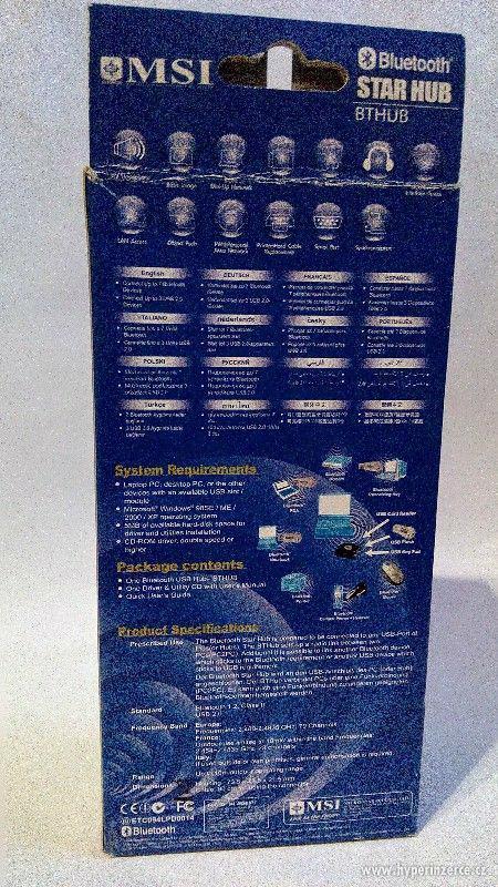 Prodám Bluetooth STAR HUB MSI - foto 2