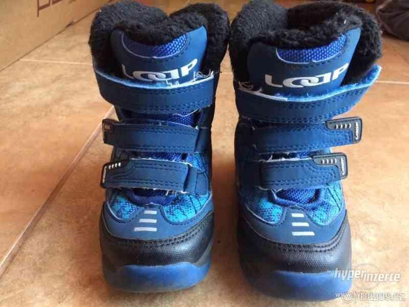 Zimní dětské boty Loap 22