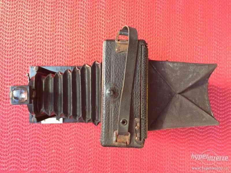 Historický fotoaparát Leonar - Werke 9x12 cm - foto 4