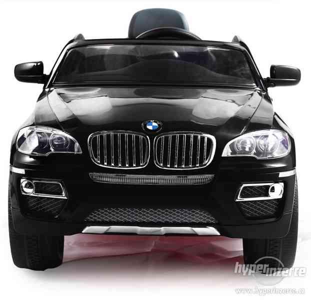 Dětské elektrické vozítko BMW X6 Černé EVA kola