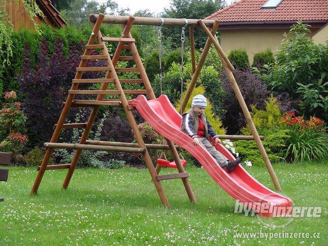 Výprodej!!!  Dětské hřiště ZDARMA SKLUZAVKA i HOUPAČKA