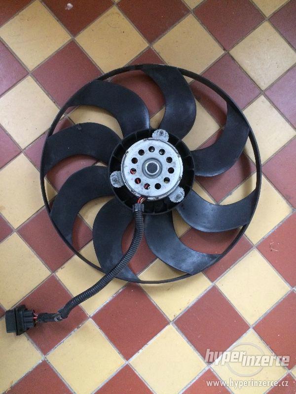 Prodám ventilátor na škoda Fabia ii