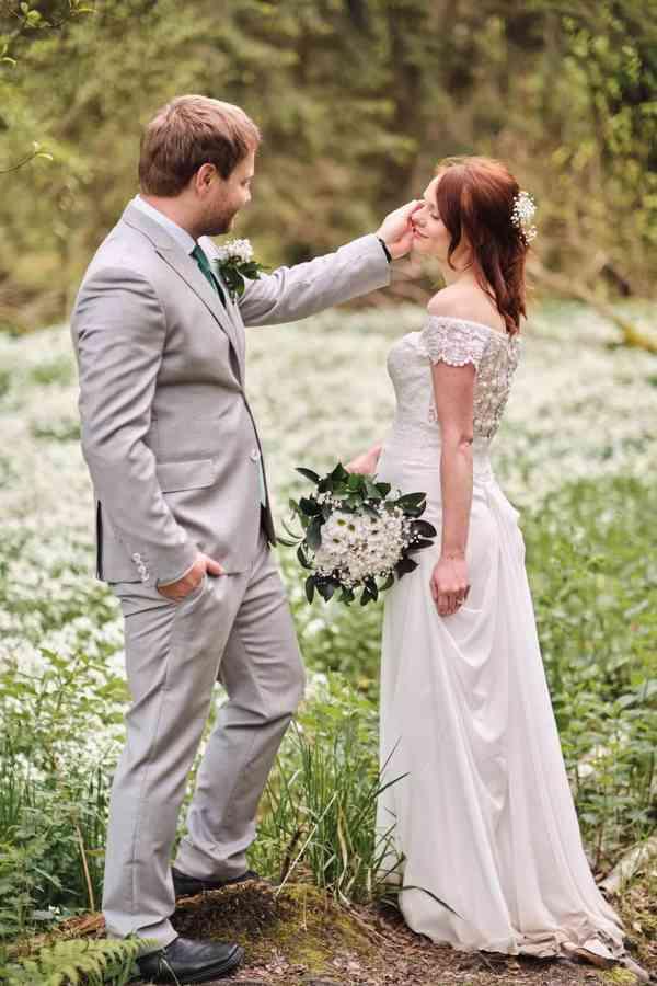 Nádherné svatební šaty vel. 32-34 barva krémová/champagne - foto 3