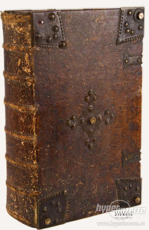 Staré tisky Bible