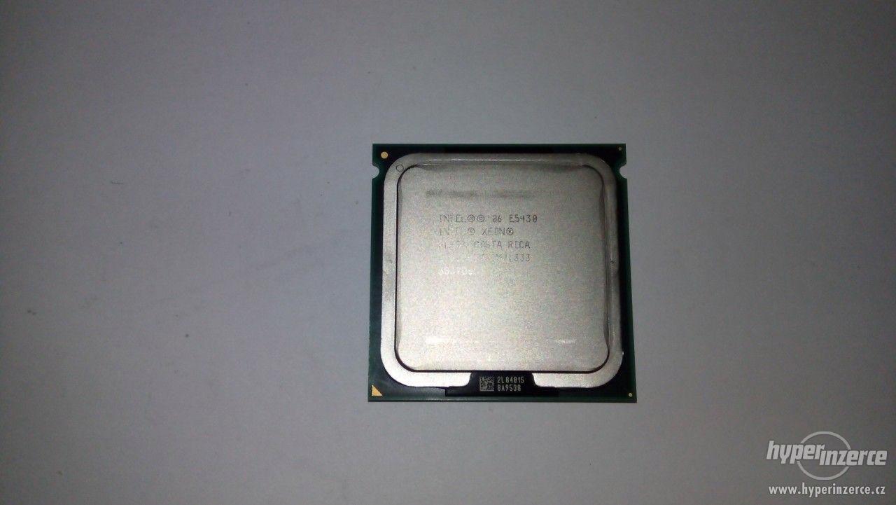 Procesor Intel Xeon E5430 , 2,66 GHz , 4-jadrový - foto 1