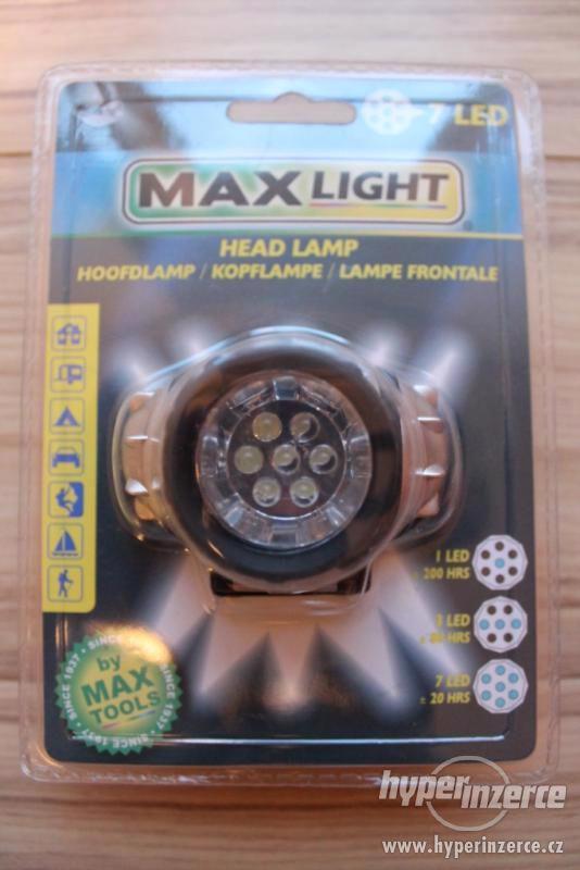 Čelovka LED