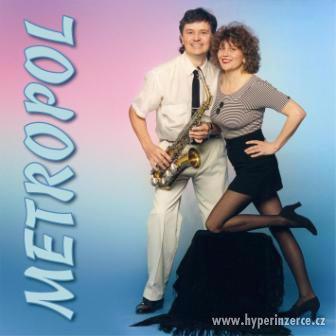 Brněnská kapela skupina živá taneční hudba Metropol - foto 2