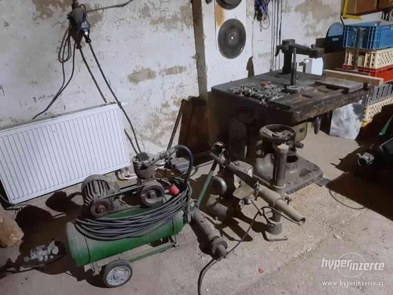 Prodám vybavení truhlárny možná výměna za stroje na palivové - foto 12