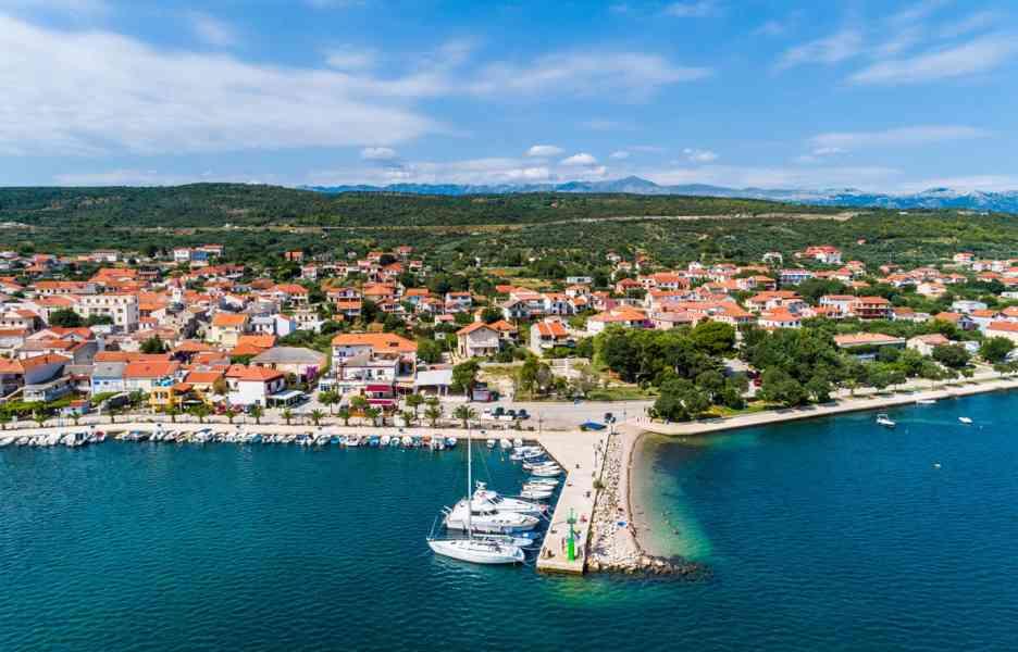 Dalmácie Chorvatsko Posedarje Zadar Dovolená - foto 2