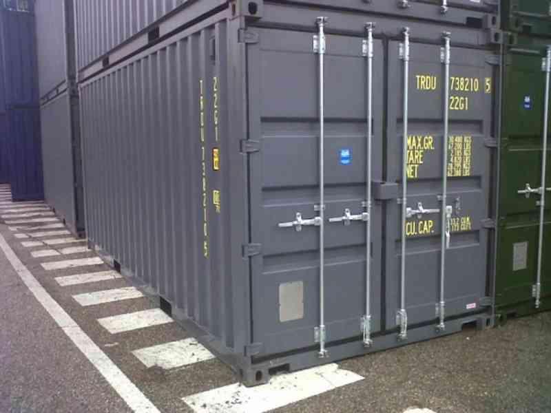 Prodej kontejneru ve velmi dobrém stavu   - foto 2