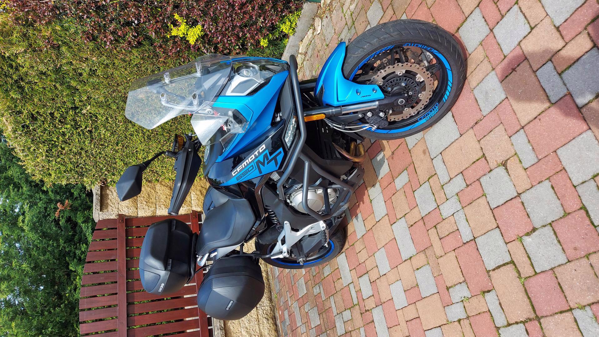 KTM + CF MOTO 650MT moderní cest. enduro - foto 1