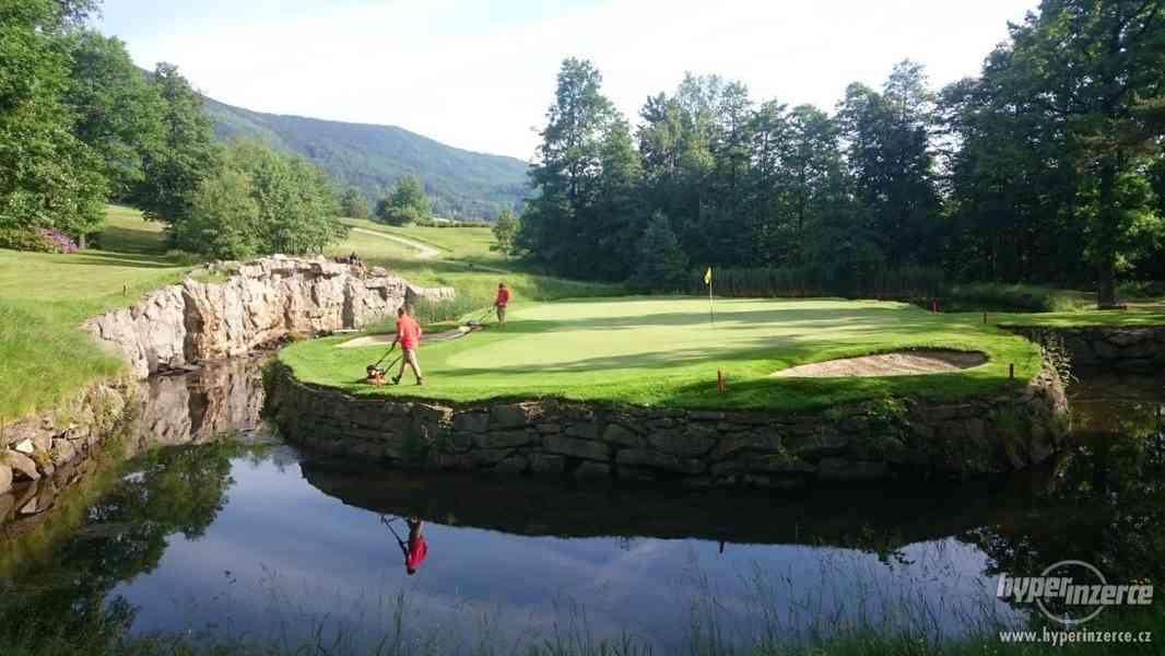 Údržba golfového hřiště - foto 1