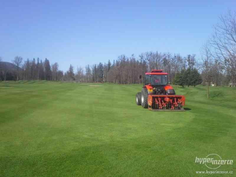 Údržba golfového hřiště - foto 2