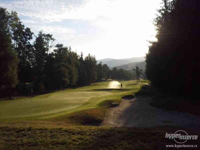 Údržba golfového hřiště - foto 3