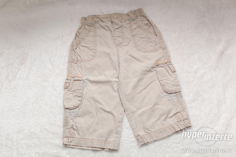 Chlapecké plátěné kalhoty - foto 1