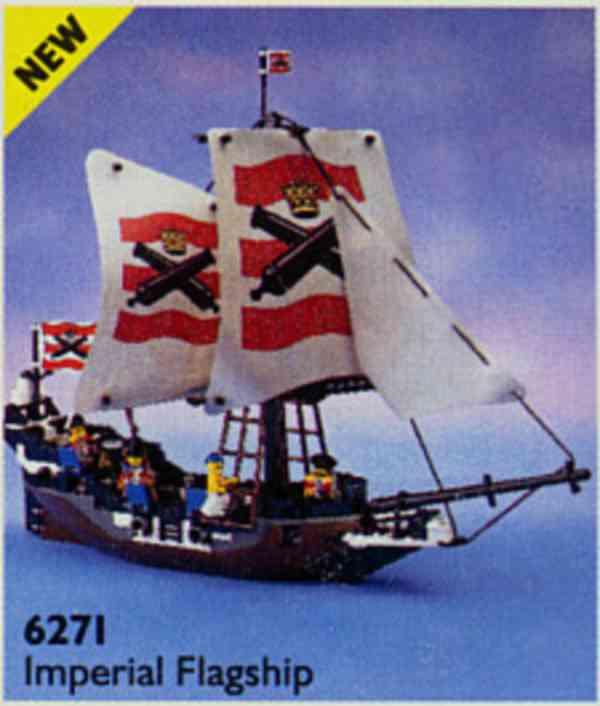 Lego piráti set 6274 Caribbean clipper - foto 2