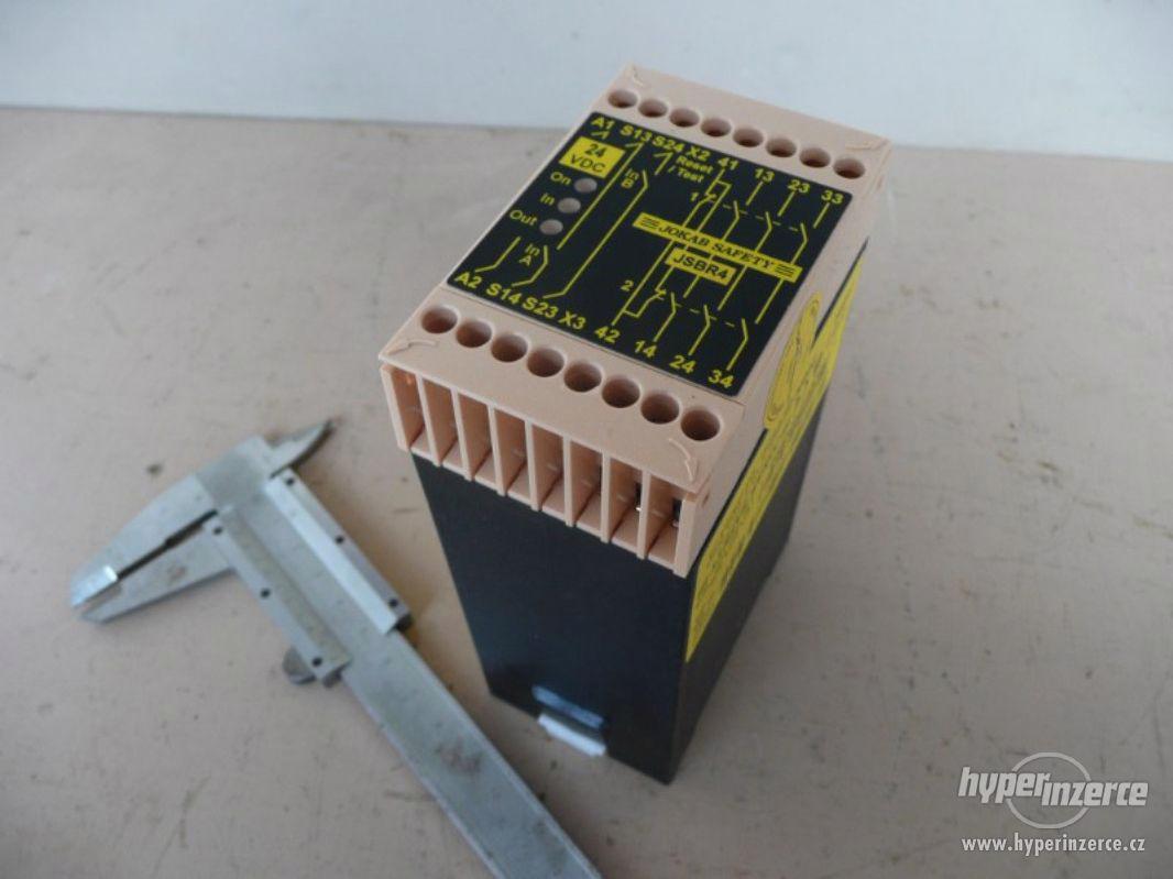 Nové bezpečnostní relé Jokab Safety typ JSB R4 - foto 1