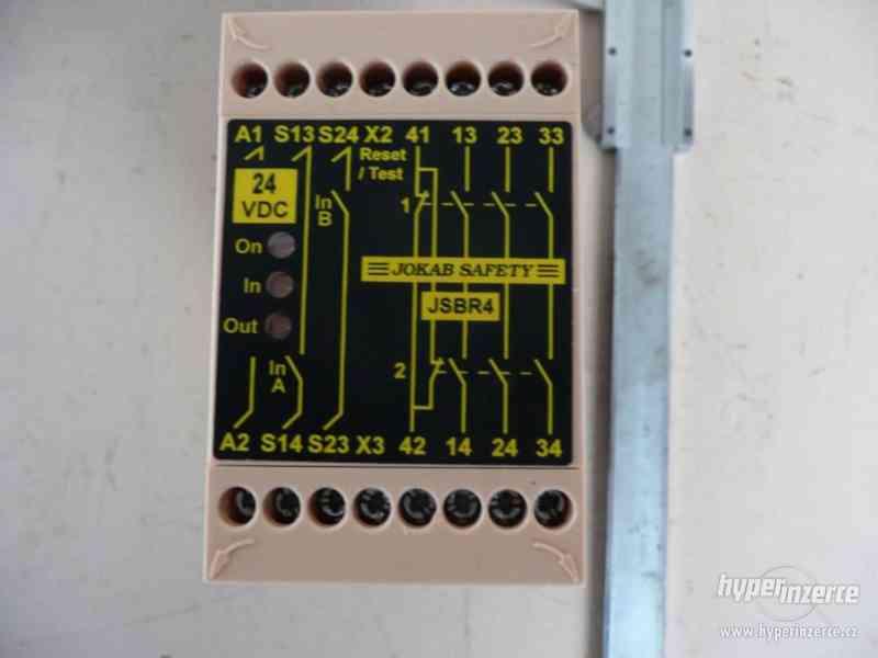 Nové bezpečnostní relé Jokab Safety typ JSB R4 - foto 2