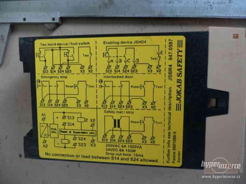 Nové bezpečnostní relé Jokab Safety typ JSB R4 - foto 4