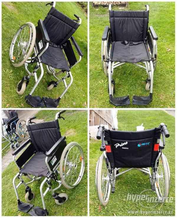 Invalidní vozík(skládací) zn. Dietz Primo Basico -