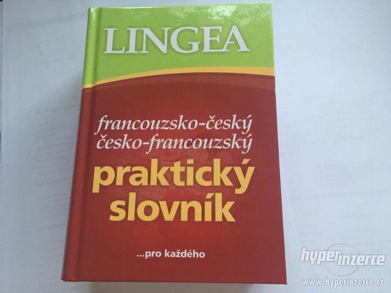 Francouzsko-český, česko-francouzský slovník NOVÝ - foto 1